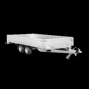 Saris PL 406 184 3500 2 Hochlader, 3500 kg PKW Anhänger