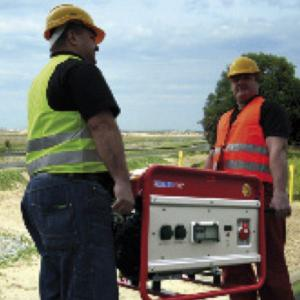 Wasserpumpen / Stromerzeuger