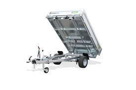 PKW Anhänger PHK 1323-10-1500, Heckkkipper, Handpumpe, WEB 30, 230x150x30, 1300 kg